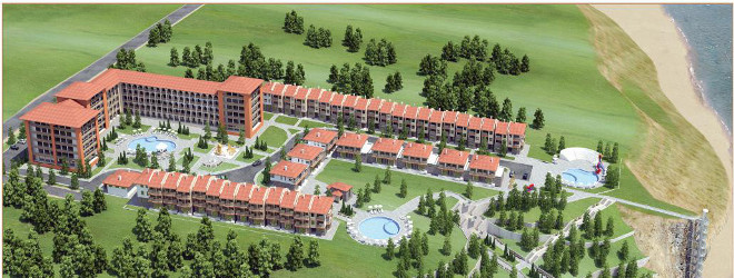 Conceptual drawing of Real Estate investment project in Byala, Bulgaria
