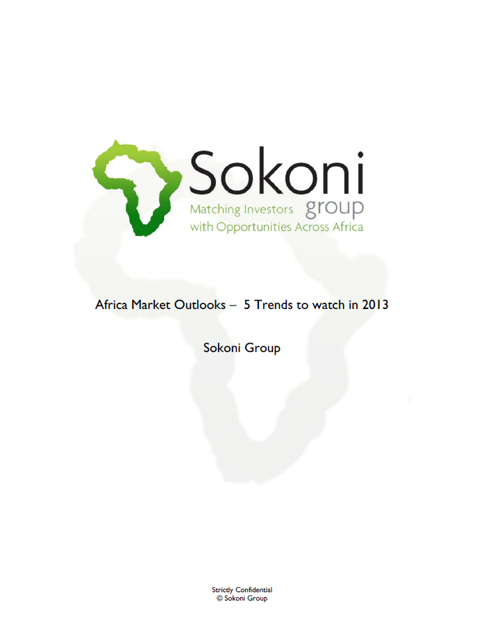 Report on Investment Trends in Africa