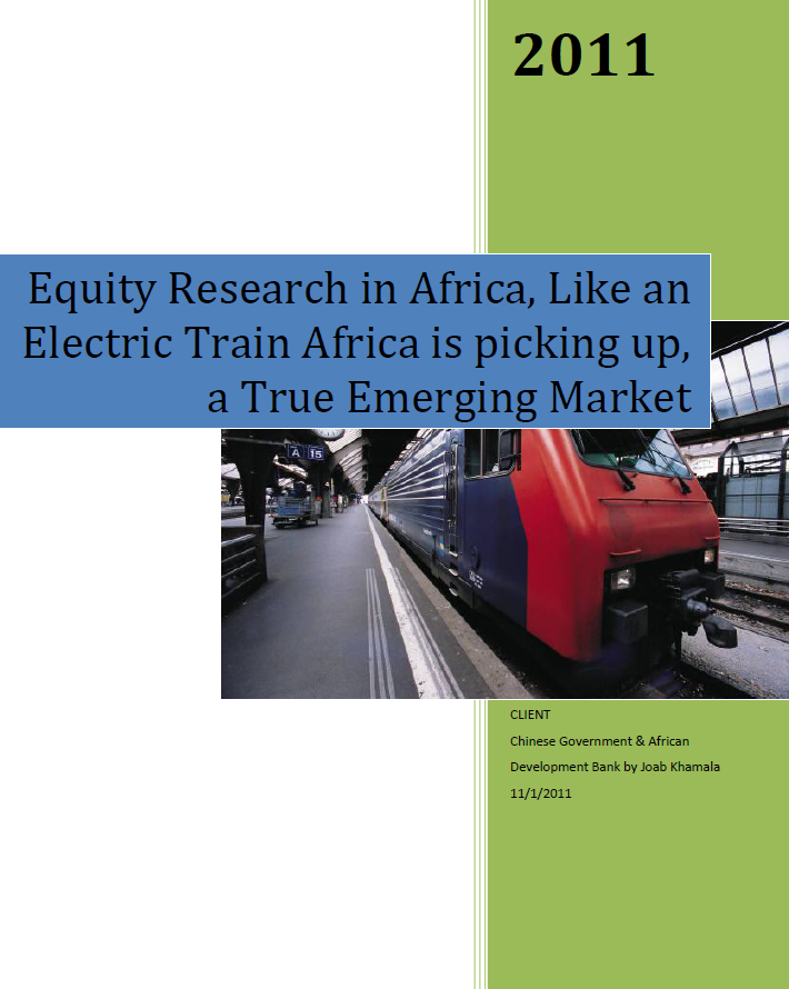Equity Research Report Africa