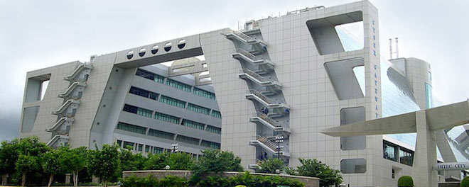 Hyderabad hitech buildings.