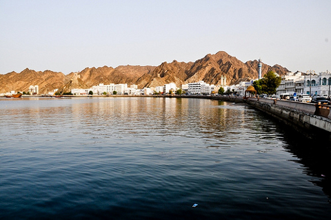 Seaside View of Oman