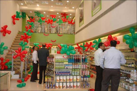 Opening of retail pharmacy store in India