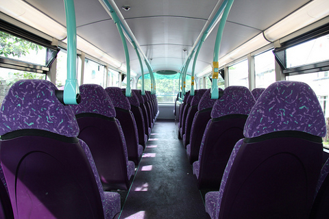 Picture of an Empty Bus